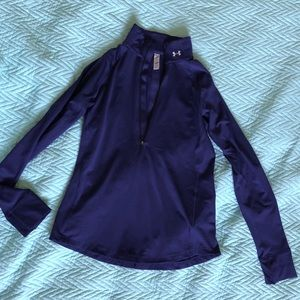 Under Armor sweater Purple